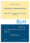 Heft 45: Legitimacy in a Hegemonial System